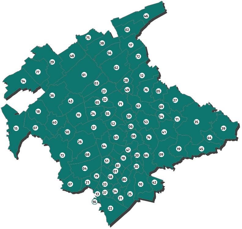 Carte Ecotoit rénovation énergétique Troyes Champagne métropole